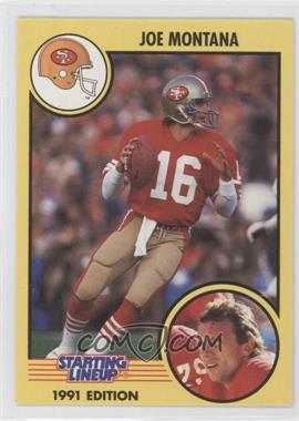 1991 Kenner Starting Lineup #16 - Joe Montana