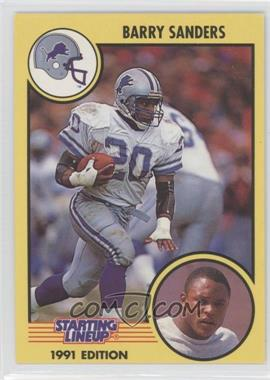 1991 Kenner Starting Lineup #20 - Barry Sanders