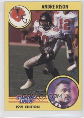 1991 Kenner Starting Lineup #80 - Andre Rison