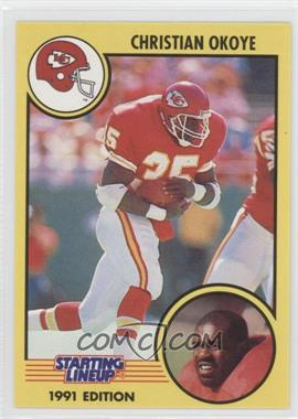 1991 Kenner Starting Lineup #N/A - Christian Okoye