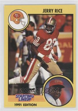 1991 Kenner Starting Lineup #N/A - Jerry Rice
