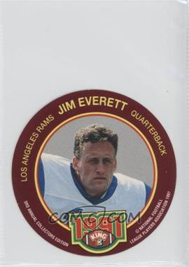 1991 King-B Collector's Edition Discs - [Base] #19 - Jim Everett