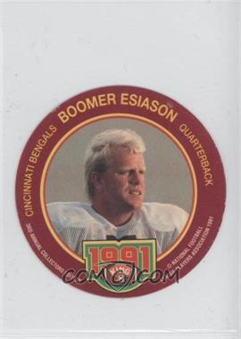 1991 King-B Collector's Edition Discs - [Base] #20 - Boomer Esiason