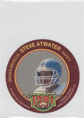 1991 King-B Collector's Edition Discs - [Base] #22 - Steve Atwater