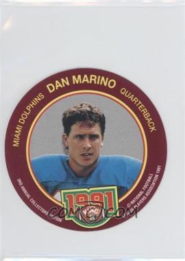 1991 King-B Collector's Edition Discs - [Base] #23 - Dan Marino