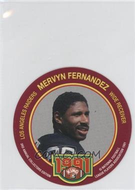 1991 King-B Collector's Edition Discs - [Base] #8 - Mervyn Fernandez