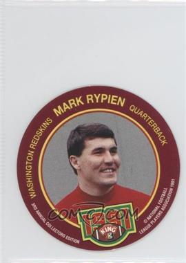 1991 King-B Collector's Edition Discs #1 - Mark Rypien