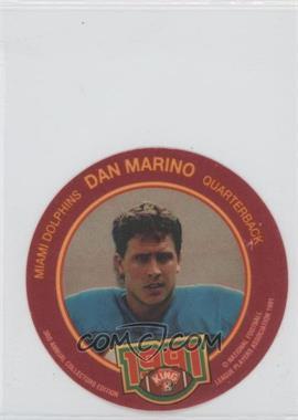 1991 King-B Collector's Edition Discs #23 - Dan Marino