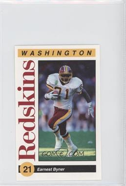 1991 Mobil Washington Redskins Police - [Base] #21 - Earnest Byner
