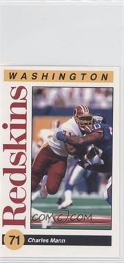 1991 Mobil Washington Redskins Police - [Base] #5 - Charles Mann