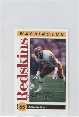 1991 Mobil Washington Redskins Police - [Base] #55 - Andre Collins