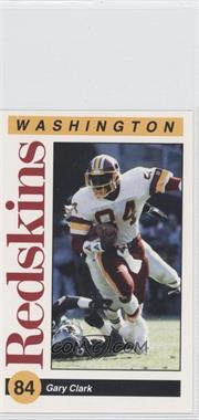 1991 Mobil Washington Redskins Police - [Base] #N/A - Gary Clark