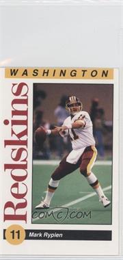 1991 Mobil Washington Redskins Police - [Base] #N/A - Mark Rypien