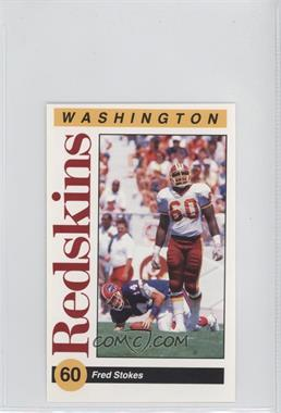 1991 Mobil Washington Redskins Police #5 - Fred Stokes