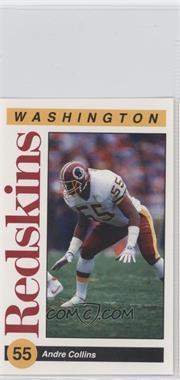 1991 Mobil Washington Redskins Police #55 - Andre Collins