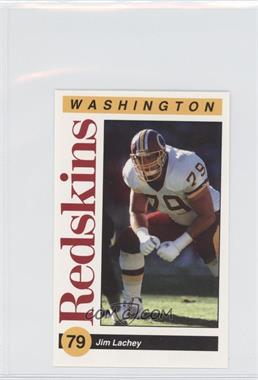 1991 Mobil Washington Redskins Police #79 - Jim Lachey