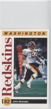 1991 Mobil Washington Redskins Police #82 - John Brandes