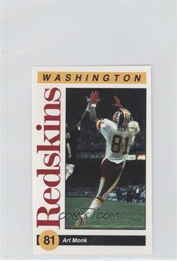 1991 Mobil Washington Redskins Police #N/A - Art Monk