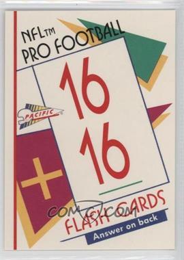 1991 Pacific Flash Cards - [Base] #20 - Marcus Allen