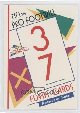 1991 Pacific Flash Cards - [Base] #21 - Deion Sanders