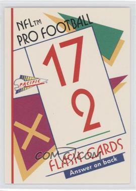 1991 Pacific Flash Cards - [Base] #54 - Bo Jackson
