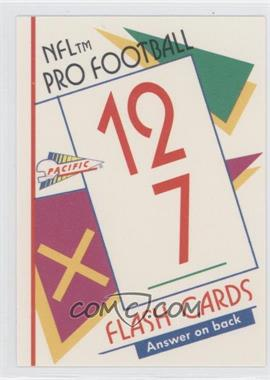 1991 Pacific Flash Cards #46 - Herman Moore