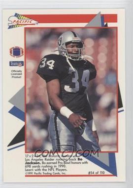 1991 Pacific Flash Cards #54 - Bobby Jackson