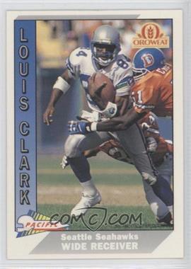 1991 Pacific Oroweat Seattle Seahawks - [Base] #30 - Louis Clark