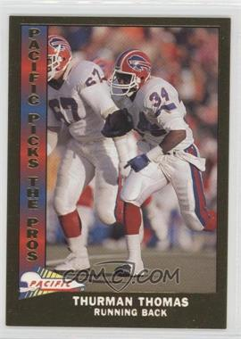 1991 Pacific Pacific Picks The Pros Gold #12 - Thurman Thomas