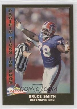 1991 Pacific Pacific Picks The Pros Gold #17 - Bruce Smith