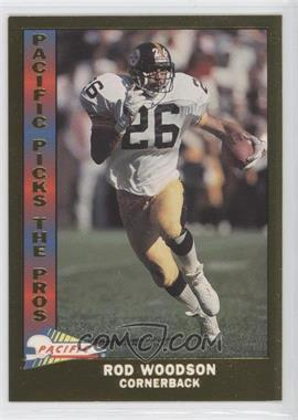 1991 Pacific Pacific Picks The Pros Gold #22 - Rod Woodson