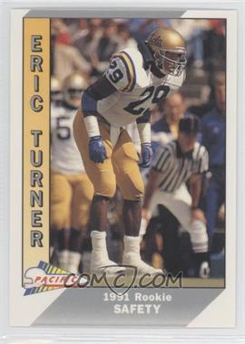 1991 Pacific #537 - Eric Turner