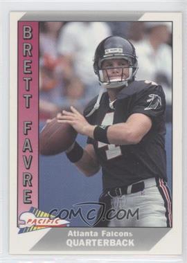 1991 Pacific #551 - Brett Favre