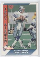 Troy Aikman, Jeff Wright