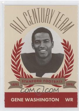 1991 Pepsi/Togo's Stanford Cardinal All Century Team #68 - Gene Washington