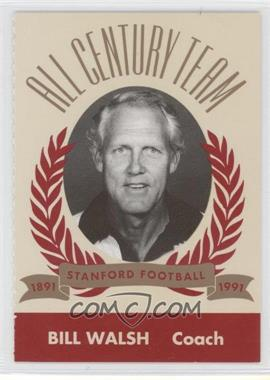 1991 Pepsi/Togo's Stanford Cardinal All Century Team #N/A - Bill Walsh