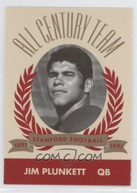 1991 Pepsi/Togo's Stanford Cardinal All Century Team #N/A - Jim Plunkett