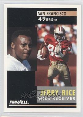 1991 Pinnacle - [Base] #103 - Jerry Rice
