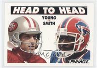 Steve Young, Bruce Smith