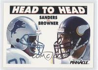 Barry Sanders, Joey Browner