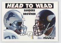 Barry Sanders, Joey Browner