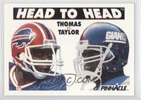 Thurman Thomas, Lawrence Taylor