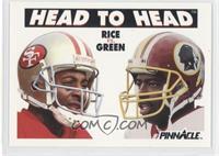 Jerry Rice, Darrell Green
