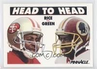 Jerry Rice, Darrell Green