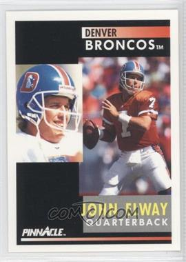 1991 Pinnacle - [Base] #7 - John Elway