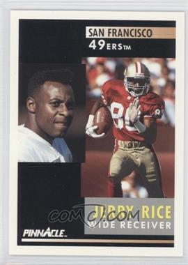 1991 Pinnacle [???] #103 - Jerry Rice