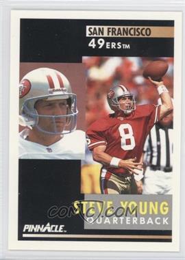 1991 Pinnacle [???] #201 - Steve Young