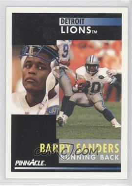 1991 Pinnacle [???] #250 - Barry Sanders