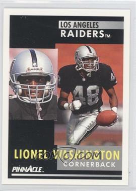 1991 Pinnacle [???] #272 - Lionel Washington