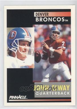 1991 Pinnacle [???] #7 - John Elway